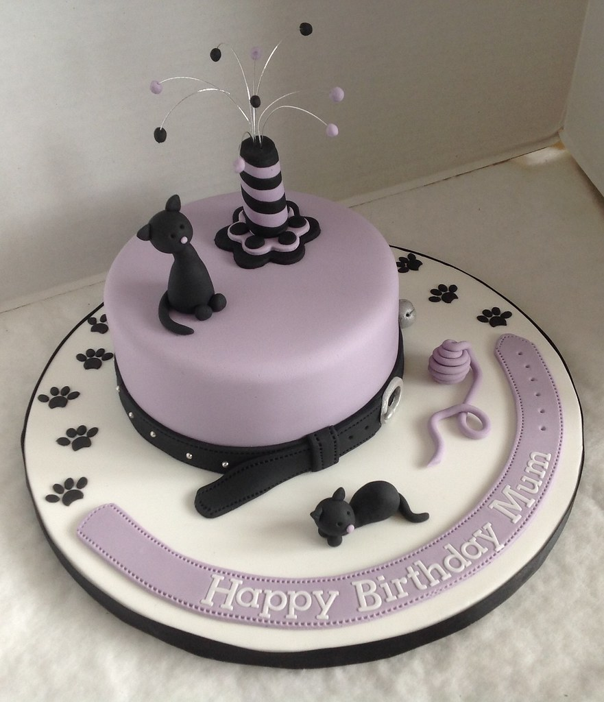 Images Of Cat Birthday Cakes