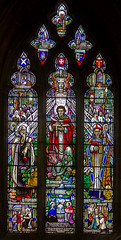 Stained glass window, St Andrew's church, Helpringham