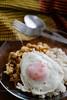 ข้าวผัดกระเพราไก่ไข่ดาว by Nobythai