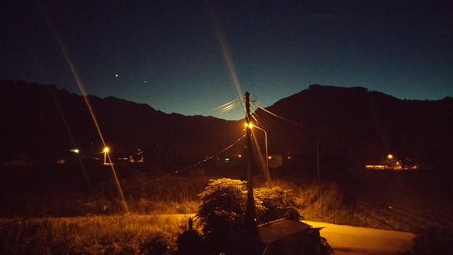 시골집 풍경 - 별이 빛나는 밤