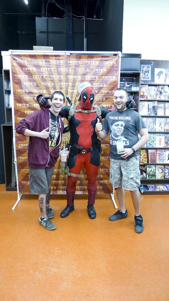Deadpool Meet & Greet at TATE's North!