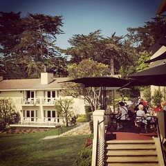 Rich Folks Brunchin' at The Lodge at Pebble Beach.