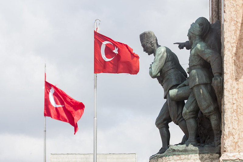 Taksim Meydani Square & Monument of the Republic