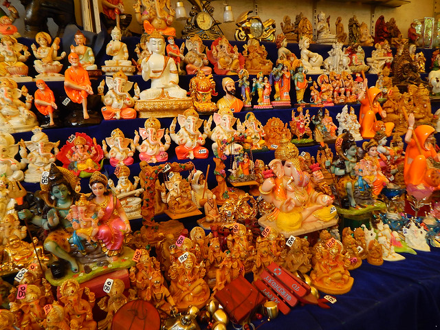 Souvenir Shop @ Elephanta Island, Mumbai