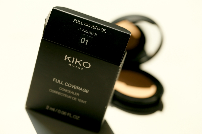 KIKO Full Coverage Concealer 01 Light, KIKO Full Coverage Concealer review, KIKO Full Coverage Concealer swatches, kiko cosmetics, kiko nederland, full coverage concealer, kiko concealer, budget concealer, kiko cosmetics, nars radiant creamy concealer, beautyblog, fashion is a party, fashion blogger
