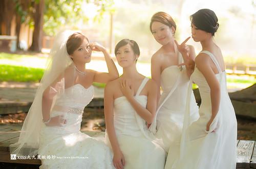 高雄KISS九九麗緻婚紗~跟閨蜜一起拍婚紗!紀念我們逝去的青春… (5)
