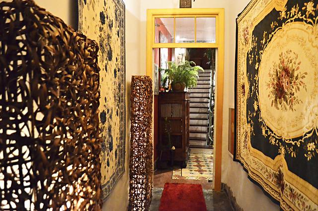 Entrance, La Rosa di Bari, Puerto de la Cruz, Tenerife