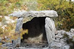 L'un des dolmens, vu coté