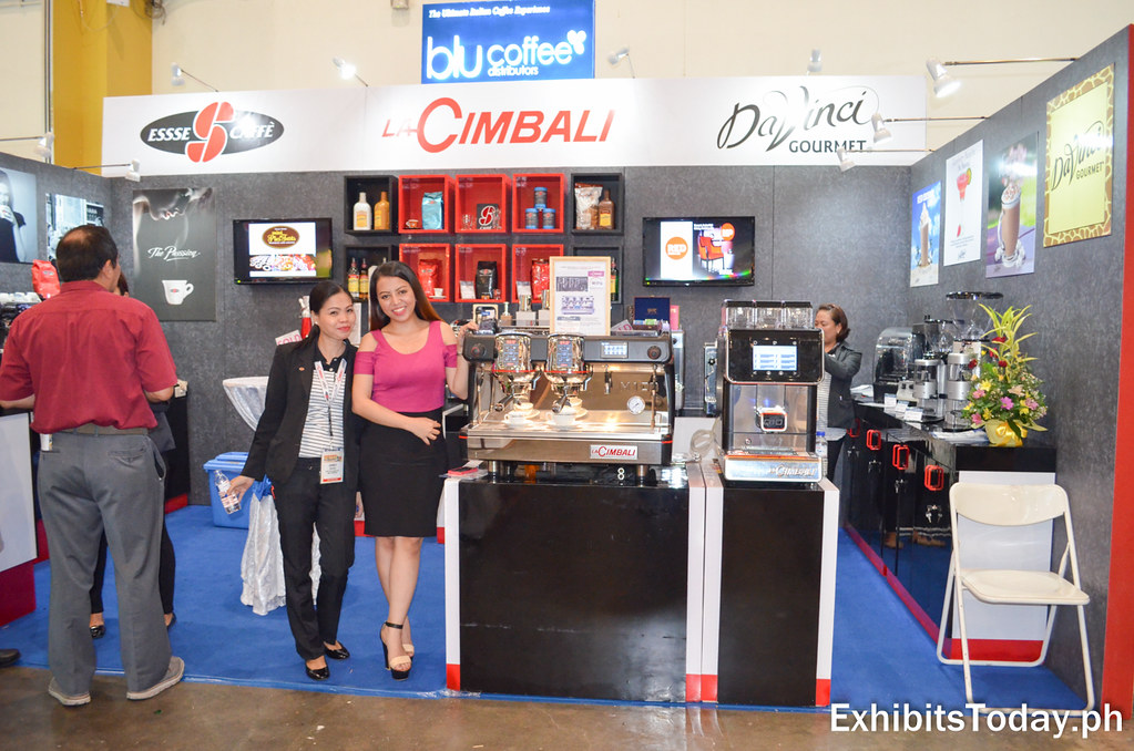 Blu Coffee Distributors Exhibit Stand