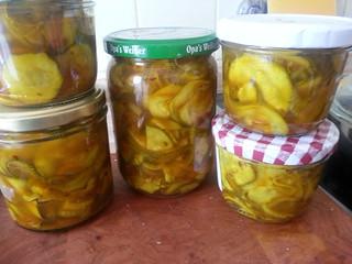 Zucchini-Pickles