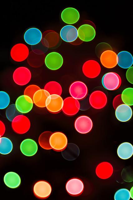 O Abstract Christmas Tree