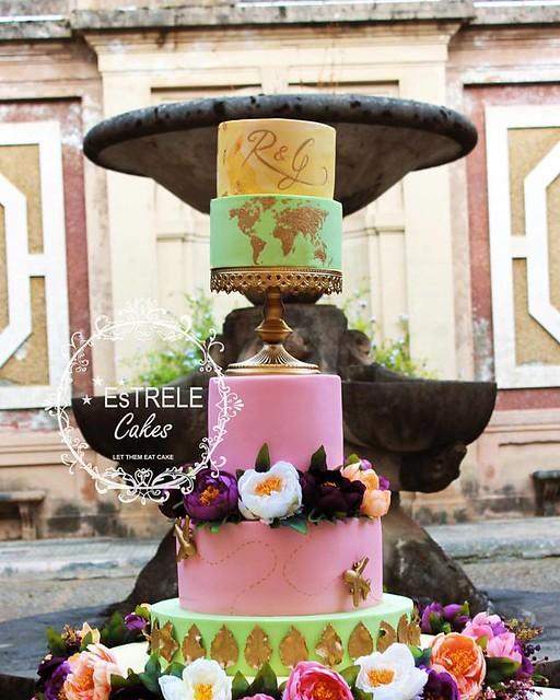 Cake by Estrele Cakes