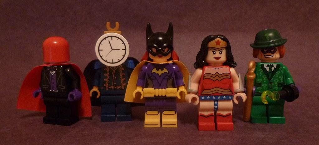 Lego DC Figures 78