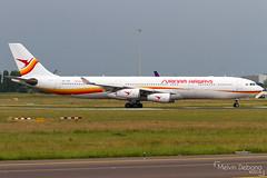 Surinam Airways Airbus A340-313     PZ-TCR     Amsterdam Schiphol - EHAM