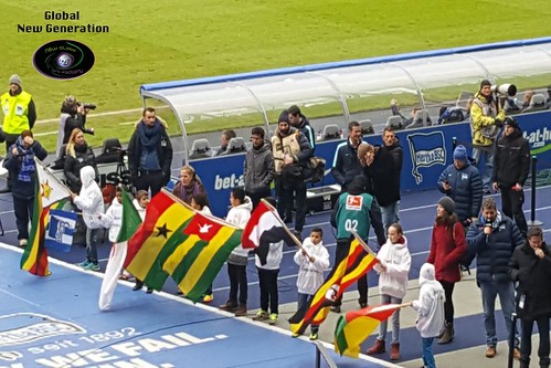 Bei Hertha im Olympiastadium