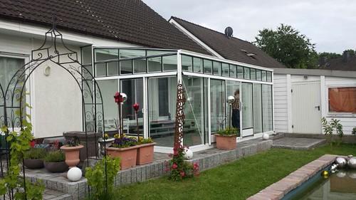 Anlehngewächshaus Pultdach Palmen GmbH (327)