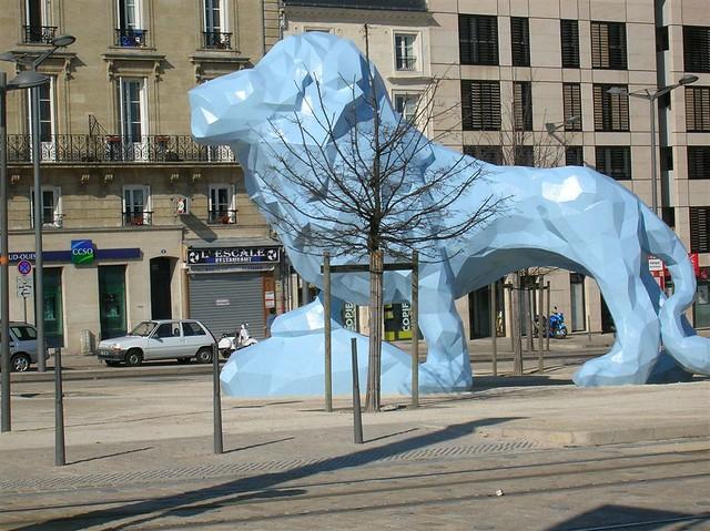 bordeaux blue lion flickr photo sharing. Black Bedroom Furniture Sets. Home Design Ideas