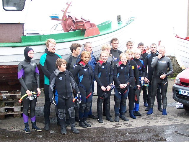 Sea swimmers ready for the SFS 2005