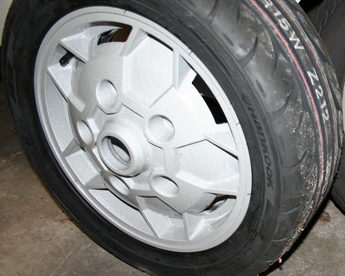 MSS Widened Wheel, Front View