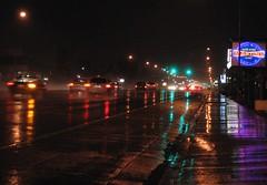 Pavement and precipitation