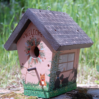Ornamental Birdhouse