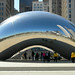 Giant Bean aka Cloud Gate at Millennium Park - front view