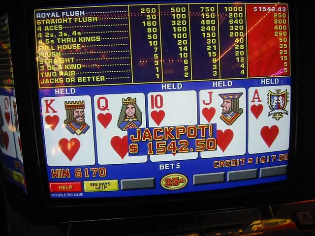 Video Poker Jackpots A Gallery On Flickr