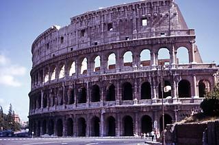 The Roman Colosseum, 1963