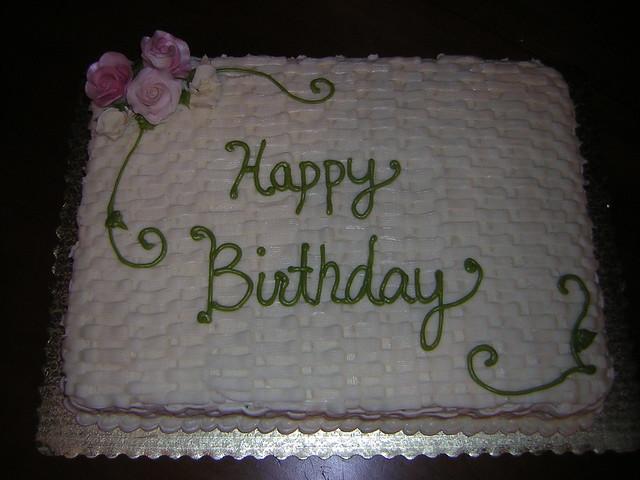Birthday Cake Images Dow : Birthday Sheet Cake Flickr - Photo Sharing!