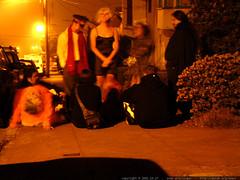 halloween party on the sidewalk   dscf0645