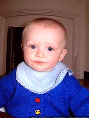 nick in a sweater rachel knitted for him   dscf5232