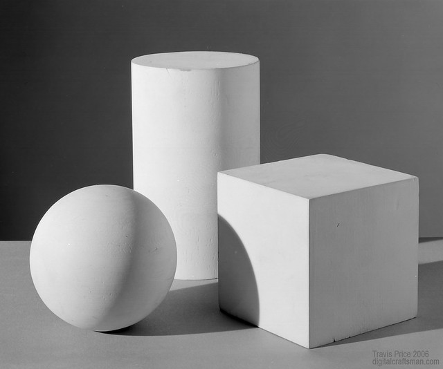 Ball Cube & Cylinder Assignment