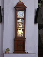 furniture, wood, longcase clock,