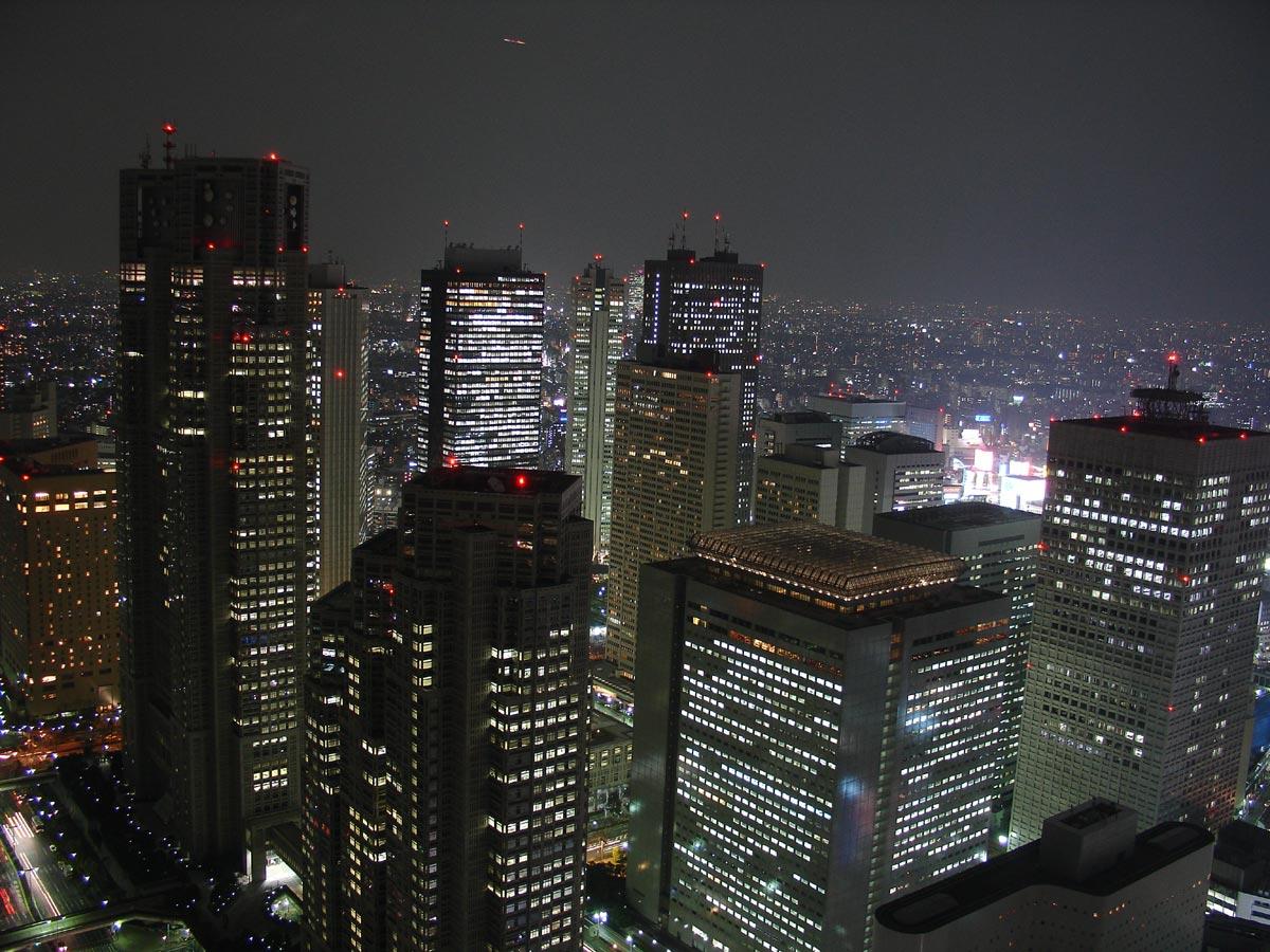 tokyo dark city skyline - photo #37