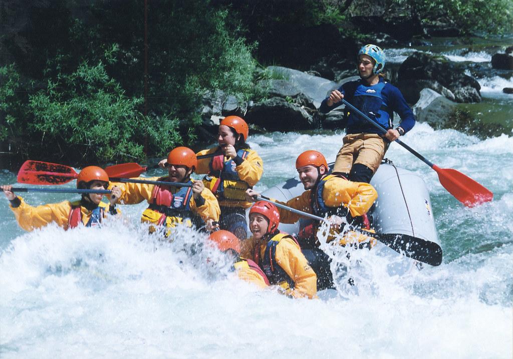 Rafting en el Pallars-Sobirà
