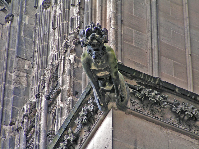 Cologne Cathedral Gargoyles at Cologne Cathedral | by