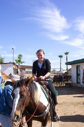 Megan on horse