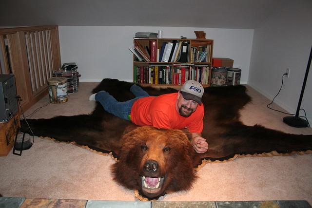 Bear Rug 013