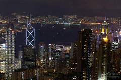 HK Skyline (closer in Eastward view)