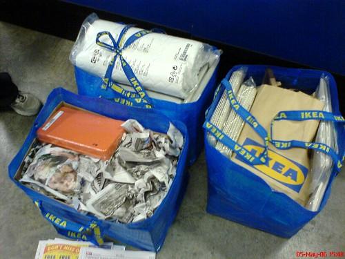 Torby do noszenia, alternatywą dla worków i kartonów