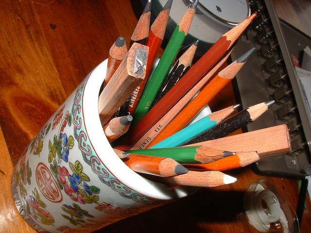 pencil jar | Flickr - Photo Sharing!