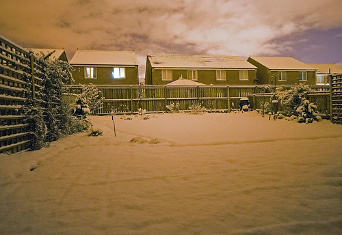 Snow, Christmas 2005 by saltwell