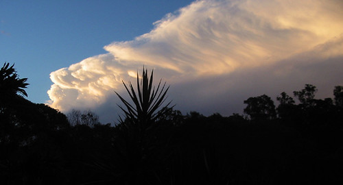 sunset sky clouds australia queensland beenleigh