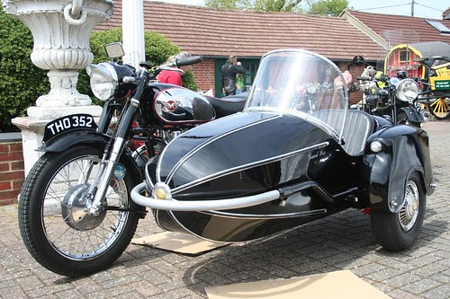 Classic Matchless Motorcycle & Sidecar