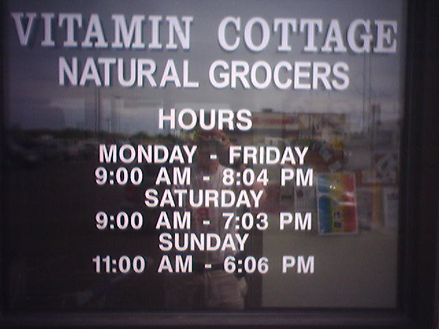 Vitamin Cottage Natural Food Mkt