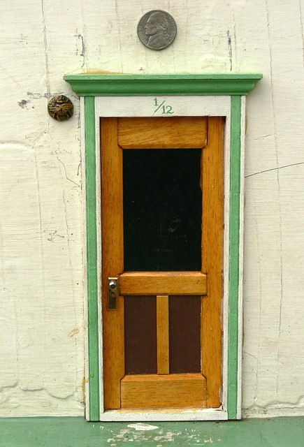 Jefferson Market Fairy Door Exterior & Ann Arbor\u0027s Fairy Doors - a gallery on Flickr