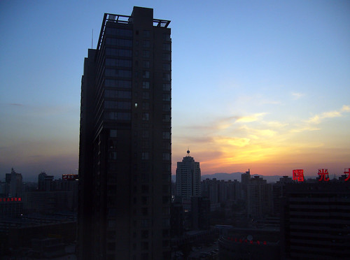 Beijing sunset, after the rain [2]