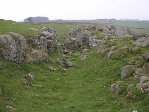 Ditch at Limestone Corner