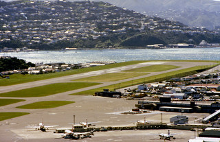 Wellington Airport, 1980 from Strathmore