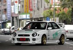 race car, automobile, subaru, vehicle, subaru impreza wrx, automotive design, subaru impreza, sedan, land vehicle,